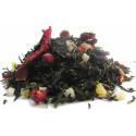 Thé Papaye, Mangue, Ananas, Cranberry -Thé vert SUNSET- Compagnie Anglaise des Thés