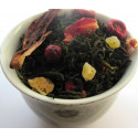 Tasse Thé Papaye, Mangue, Ananas, Cranberry -Thé vert SUNSET- Compagnie Anglaise des Thés
