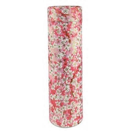 Caja Japonesa Floral Rosa
