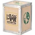 Boîte à thé en bois Darjeeling