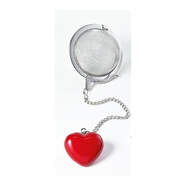 Contrapeso Corazón Rojo Ø 5cm