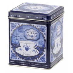 Boîte Tea Bleue