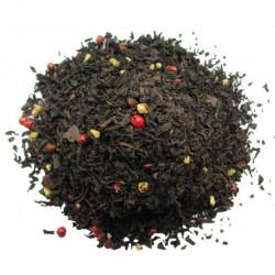 Té cacao almendras pimienta rosa - Té negro FLAMENCO - Compañía Inglesa de los Tés