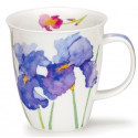 Mug Dunoon Fleurs bleues