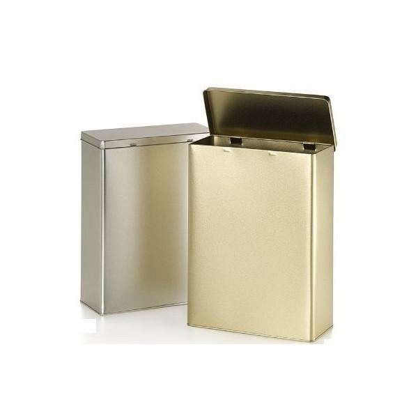 Caja para té plata 1kg