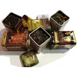 Assortiment 6 Thés Verts Parfumés - Idée Cadeau!