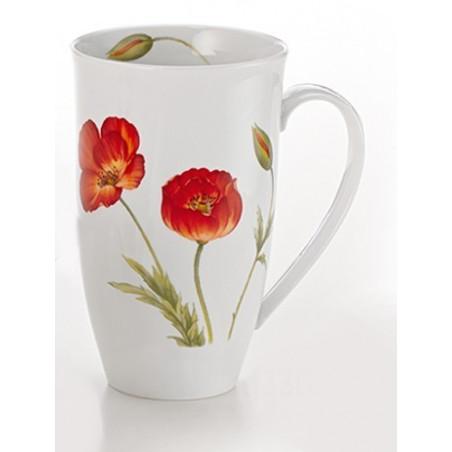 Grand Mug Coquelicot