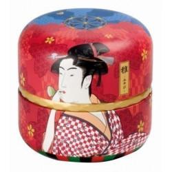 Boîte cylindrique sumo kobuki - Compagnie Anglaise des Thés