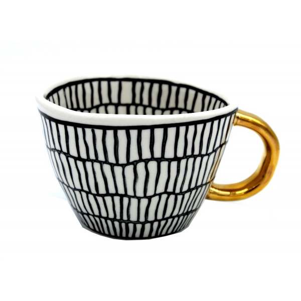 Mug Céramique Noir et Blanc