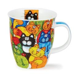 Mug Dunoon Chats Multicolore