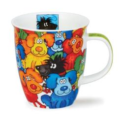 Mug Dunoon Chiens Multicolore