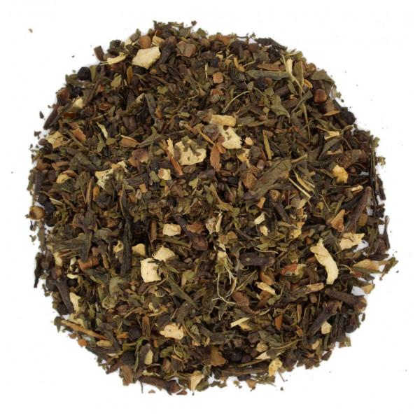 Thé Masala chai (Épices indiennes) - Thé vert CHAI SENCHA - Compagnie Anglaise des Thés