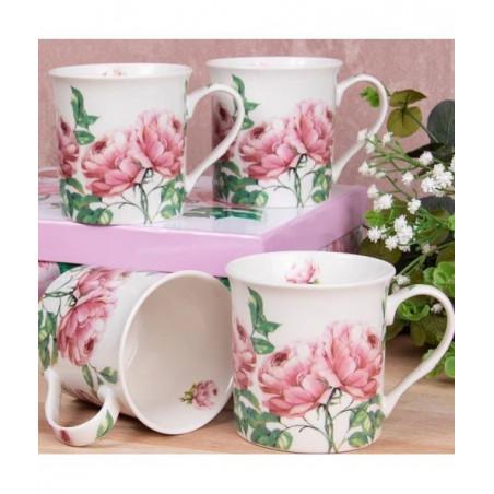 Coffret Mugs Roses