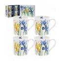 Coffret Mugs Fleurs Iris - Compagnie Anglaise des Thés