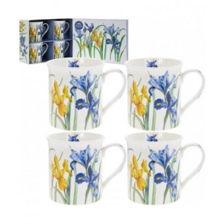 Coffret Mugs Fleurs Iris