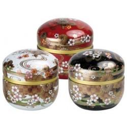 Boîte Cylindrique Japonaise - Compagnie Anglaise des Thés