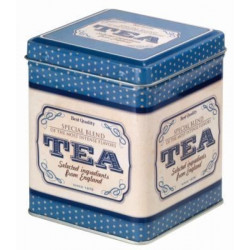 Caja para té azul