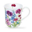 Mug Dunoon Fleurs violettes