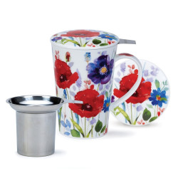 Tisanière Dunoon Fleurs - Compagnie Anglaise des Thés