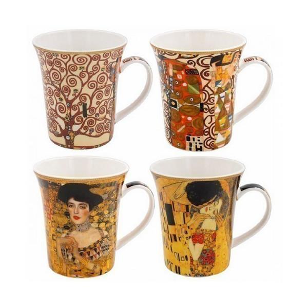 Coffret Mugs Klimt - Compagnie Anglaise des Thés
