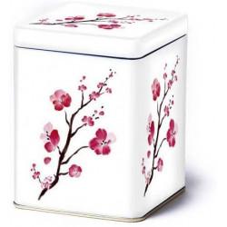 Boîte blanche Fleurs de Cerisier - Compagnie Anglaise des Thés