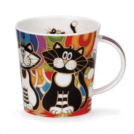 Mug Dunoon Chat multicolore