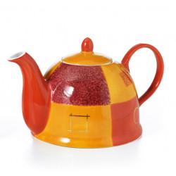 Théière Design Orange 1l - Compagnie Anglaise des Thés