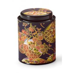 Boîte Japonaise noire et dorée 80g - Compagnie Anglaise des Thés