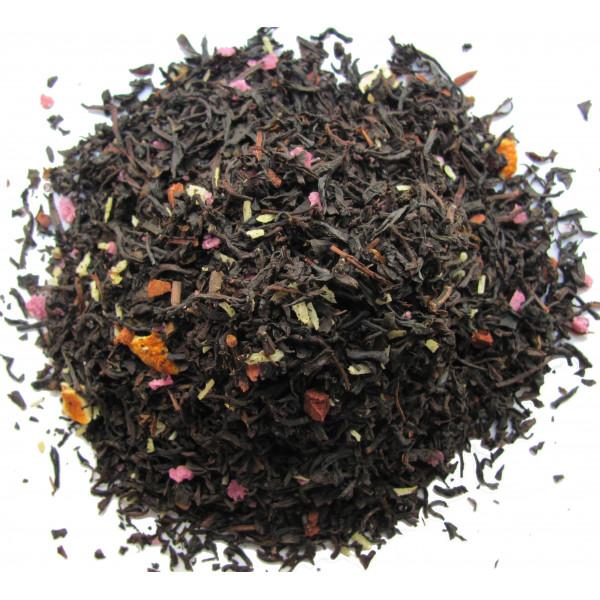Té almendra naranja canela - Té negro SANTA CLAUS - Compañía Inglesa de los Tés