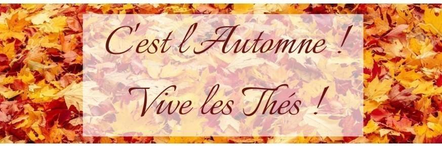 Les Thés, l'automne